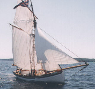 The Badger at Sail